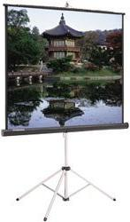 70INX70IN Picture King Tri-pod Screen Matte White & Keystone