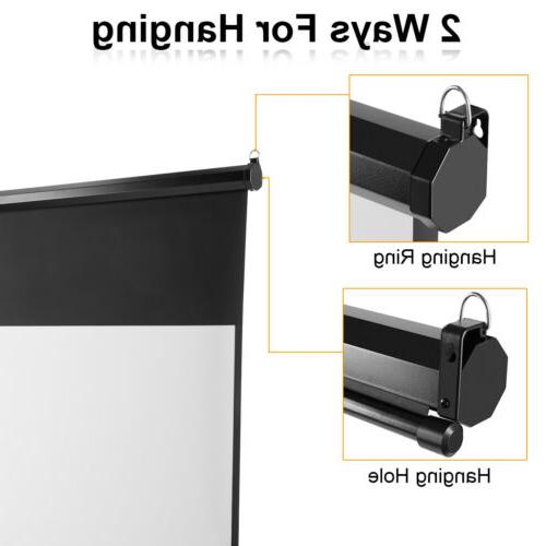 100-inch Down Wall Ceiling 1080P Projector