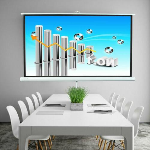 Portable Projection Screen Pull Up