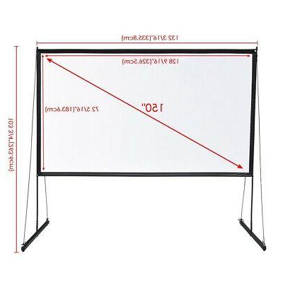 Portable Foldable Projector w/ Home Theater Outdoor Movies