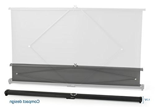 "VIVO 50"" Projector Screen - Mobile Pull Up"