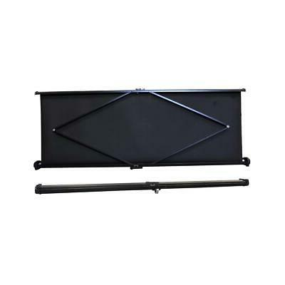 Pyle Manual Retractable Pull-Out Projector Screen, Matte