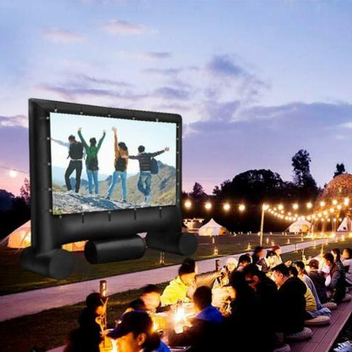 Pro Inflatable Screen Theater Set & Bag