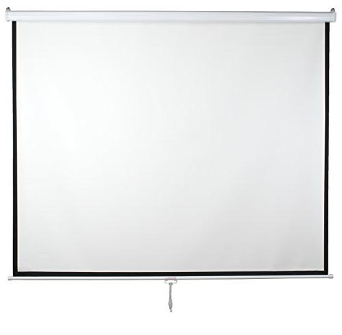"VIVO 119"" 84"" X 1:1 Mountable Projection Manual Pull Down"