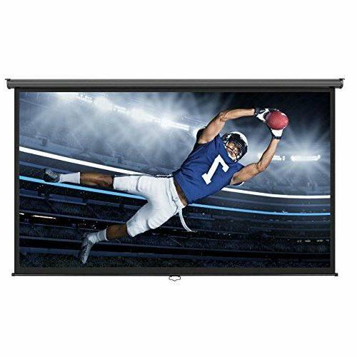 "Projector Screen Home Theater 100"" 16:9 Cinema Sport Movies"