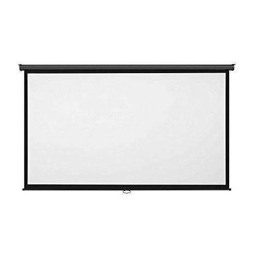 """Projector Screen 100"""" Sport Movies Pull Great"""