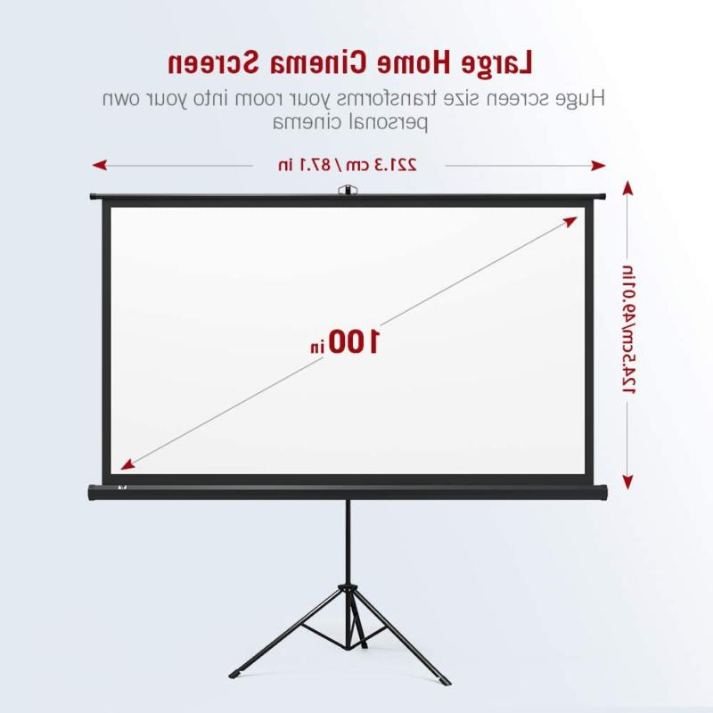 Taotronics Projector Stand, Indoor Movie Projection