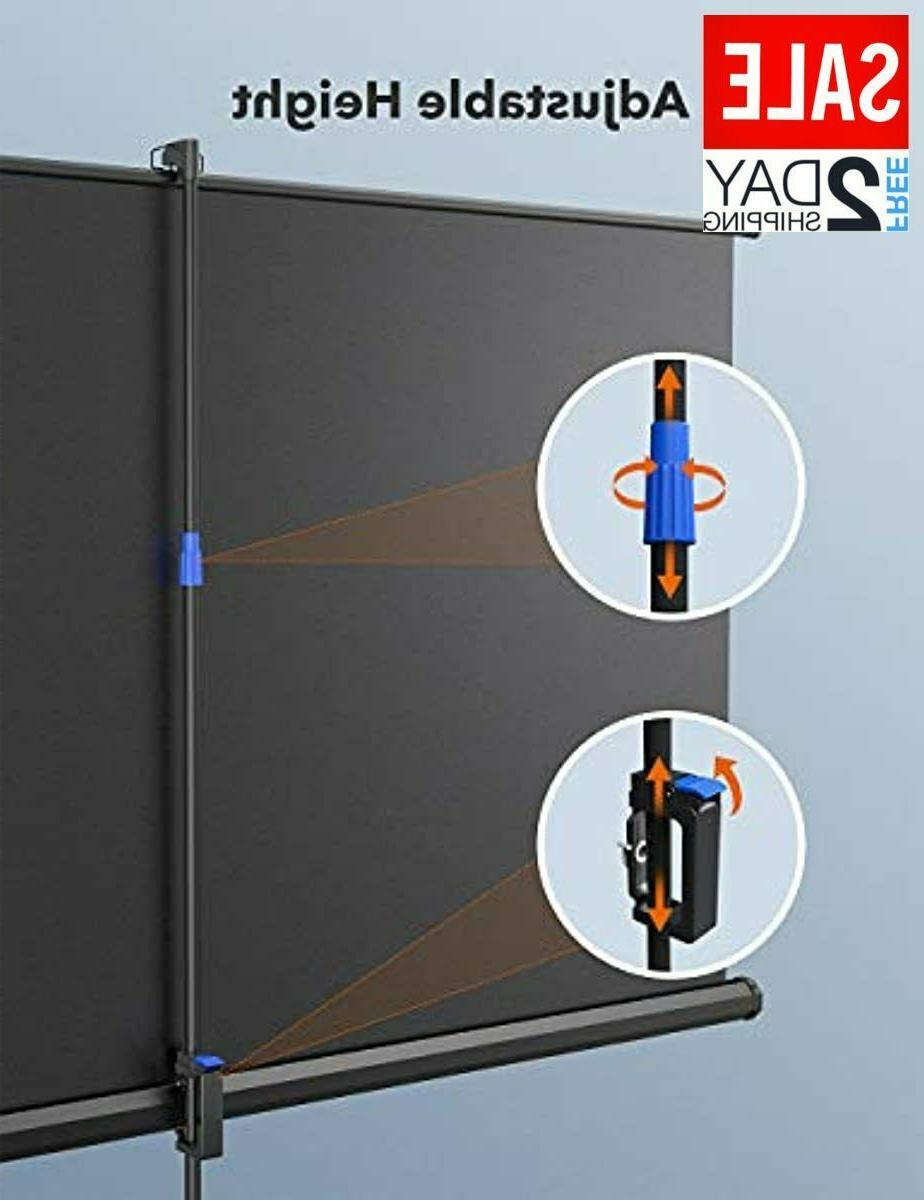 TaoTronics Projector Screen with Stand,Indoor Outdoor Screen H