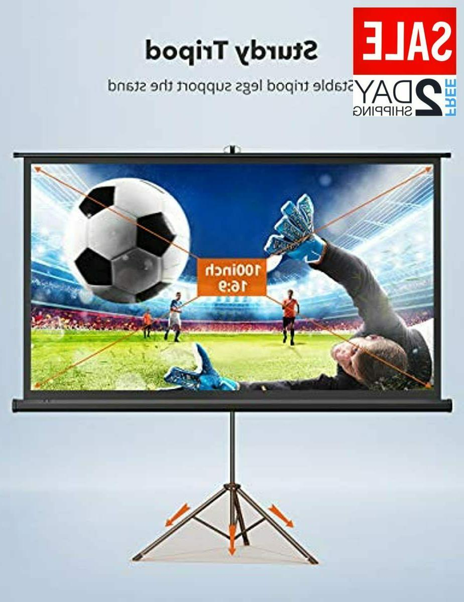 TaoTronics Stand,Indoor PVC Projection Screen