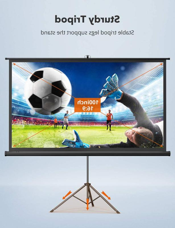 Taotronics Screen With Stand,Indoor Screen 4K