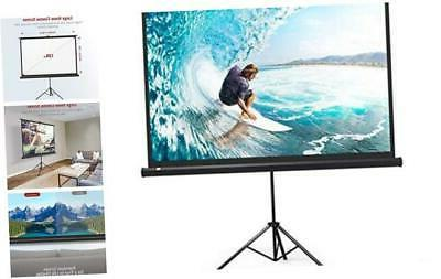 taotronics projector screen with stand tt hp020