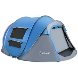 5-Person Instant Pop Up 4 Season Tent Camping Hiking Waterpr