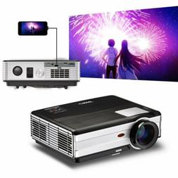 EUG LED Projector Home Theater Movie Multi-Screen for iPhone