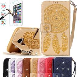 Magnetic Luxury PU Leather Card Wallet Flip Case Cover For S