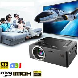 Mini Full HD 1080P LED Video Projector Home Cinema Theater T