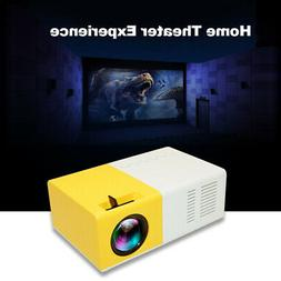 LED Projector Portable LCD 1080P Projection HD AV TF or 100'