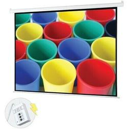 "Pyle 100"" Motorized Projector Screen, Electronic Automatic D"