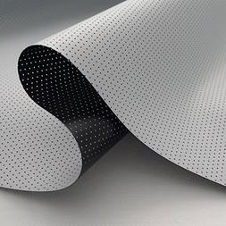 nano perforated acoustic flexigray projector