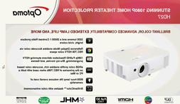 New OPTOMA HD27  HD 1080p Home Theater Projector