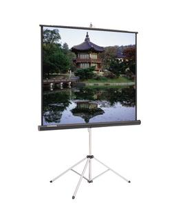 Picture King Matte White Portable Projection Screen Viewing