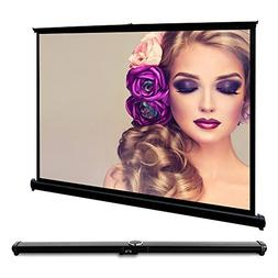 EUG Portable 40 Inches Foldable Collapsible Projector Screen