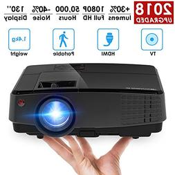 Portable Mini Video Projector LED LCD Home Theater Projector