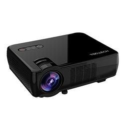 Abdtech LCD Portable Projector Home Theater With 2600 Lumino