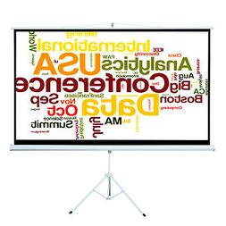 "Portable Projector Screen 100"" Tripod Projector Screen Proje"