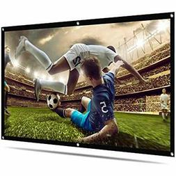 Portable Projector Screen With Storage Bag 100 Inch 169 Indo