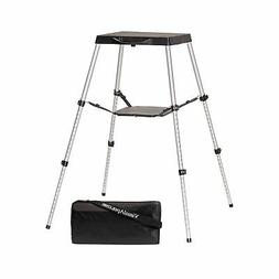 Visual Apex Portable Projector Table Stand With Projector Ca