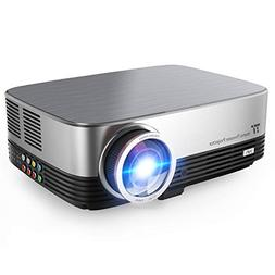 "TaoTronics Projector 300 ANSI 3500 lumens 200"" 720P Picture,"