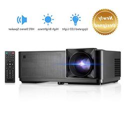 Projector , GBTIGER 4000 Lux LED Video Projector Full HD 108