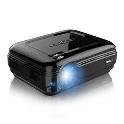 Projector, LESHP Video Projector 1080P HD Home Theater Movie