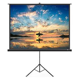 TaoTronics Projector Screen with Stand, 100 Inch 4:3 Portabl