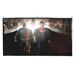Projector Screen, 120 Inch Portable HD 16:9 Projection Scree