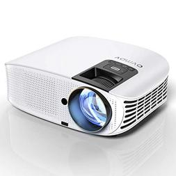 HD Projector Connect to Smartphone, Vamvo Movie Projector 20