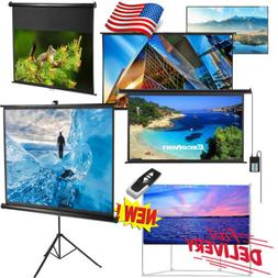 Projector Projection Screen Home Theater Movie Seven Types 7