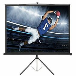 Projector Screen Tripod Foldable 4:3 Ratio Conference Movie