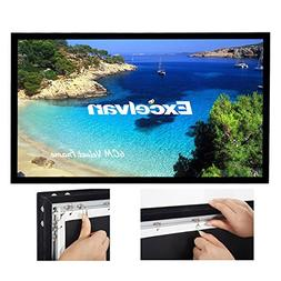 Excelvan 4K Ultra Ready Projector Screen, 120 Inch Diagonal