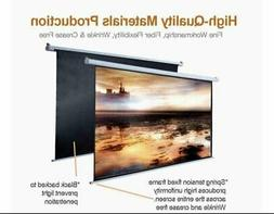 "5 Core PULL DOWN PROJECTOR Projection Screen 100""INCH 8K 3D"