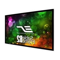 Elite Screens Sable Frame B2 Series 120 inch Diagonal 16 9 F