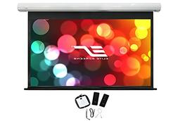 """Elite Screens Saker, 180-inch 16:9 with 24"""" Drop, Electric M"""