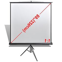 Daonanba Smooth Practical Manual Projection Screen with Heig