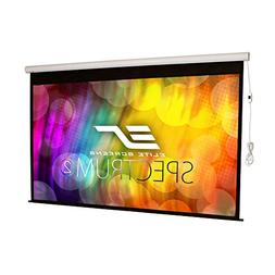 Elite Screens Spectrum2, 100-inch 16:9, 12-inch Drop, Electr