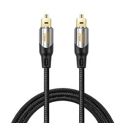 Digital Optical Audio Cable,CableCreation 50FT Toslink Male