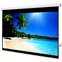 "TV Projector SCREEN 100""4:3 Electric Auto 80X60 Remote Contr"
