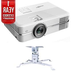 Optoma 4K UHD Home Theater Projector  + Extendable Projector