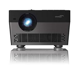 Optoma UHL55 Portable LED 4K UHD Smart Projector, Works with