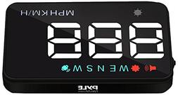 Pyle Universal 3.5'' Car HUD - Head-Up Display Multi-Col