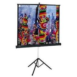 84X84 Versatol Tripod Portable Screen Matte White